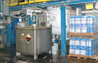 500 gallon Glass Lined Steel Reaction System